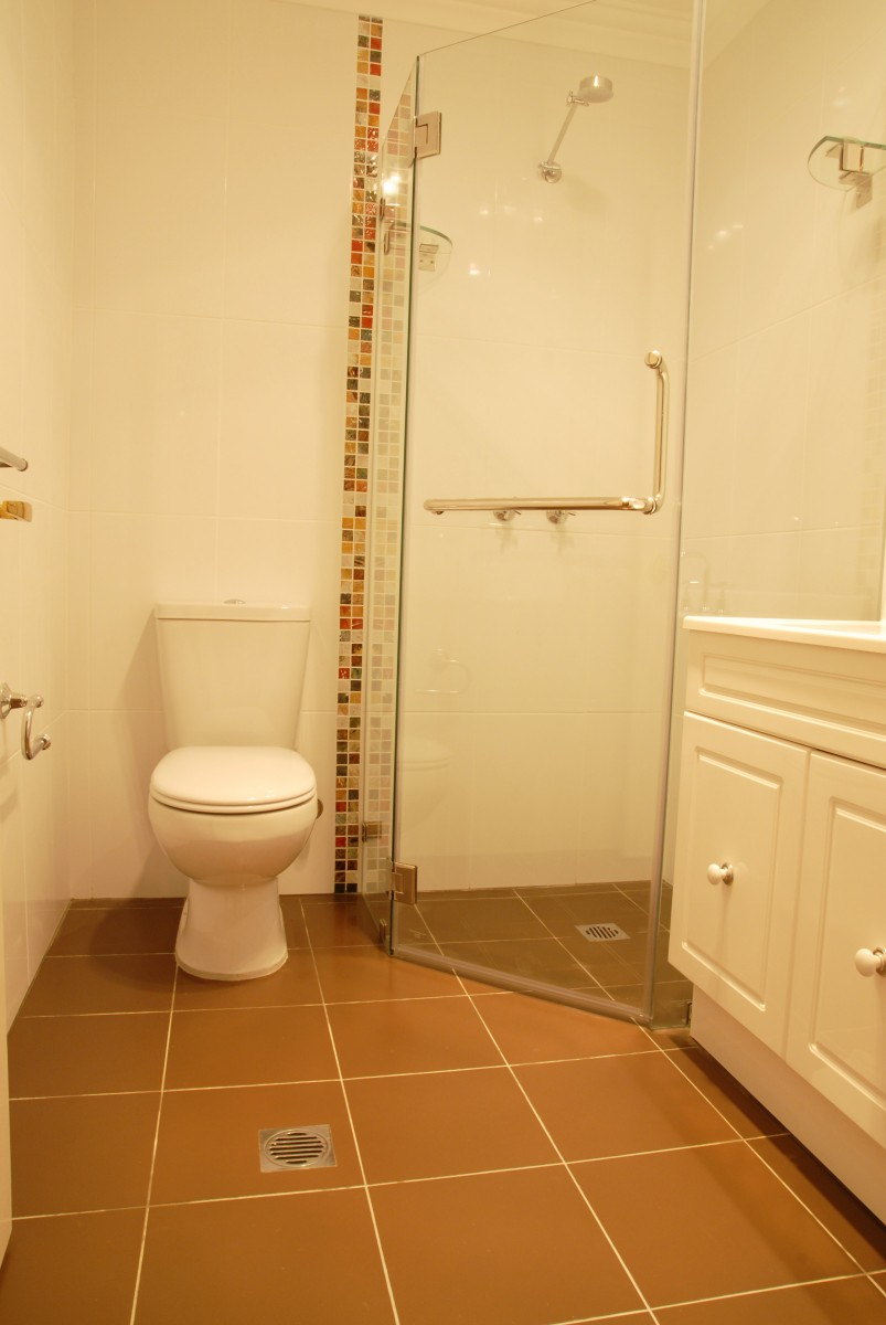 After, Downstairs Bathroom