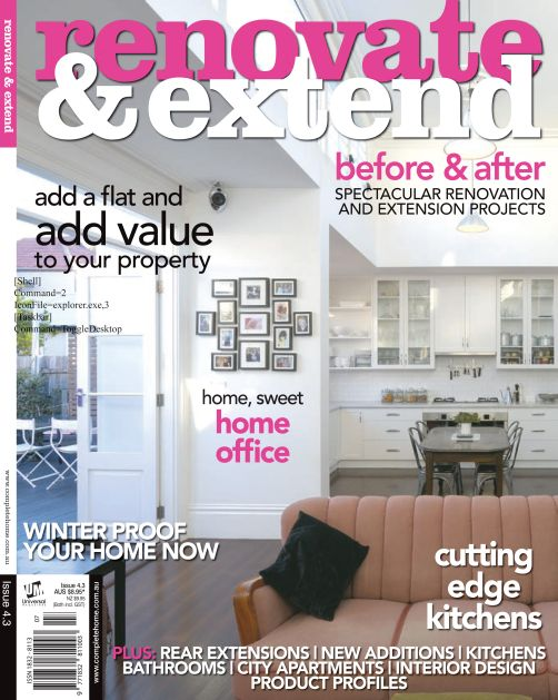 Renovate & Extend issue 4.3 - June 2008